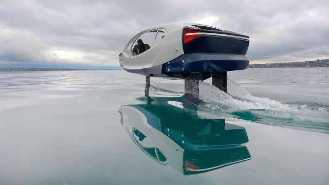 上班堵车?试试不晕船的水上出租车