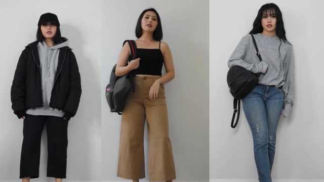 学生党福利:10件单品搭配30套装扮