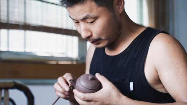 范海星:一气呵成的紫砂壶