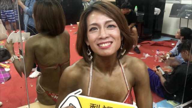 37岁肌肉女爱健身:单身跟健身无关