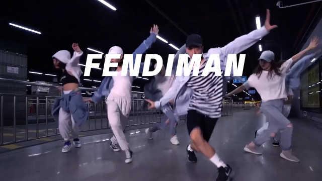 心动了吗《Fendiman》-can编舞