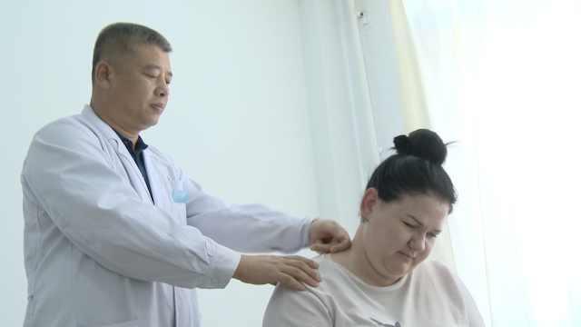 俄罗斯姑娘中国体验推拿:比理疗好