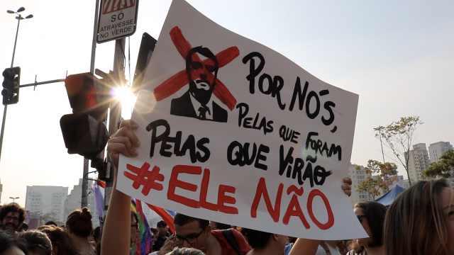 不要他!巴西26城抗議總統候選人