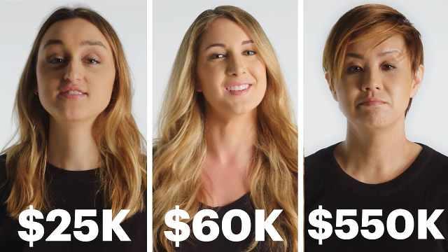 不同收入女性:我最奢华消费经历是?