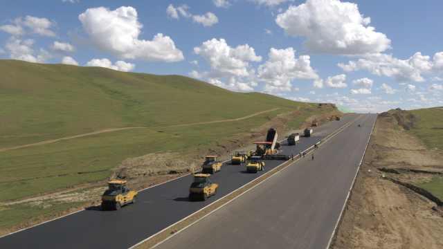 中国标准走入蒙古国!首条高速贯通