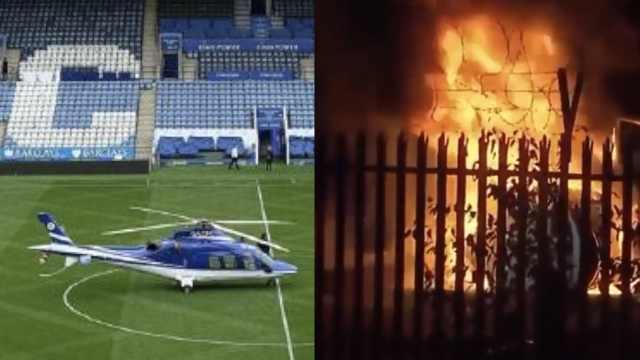 英超球队老板直升机坠毁,一片火海 樊振东夺单打冠军