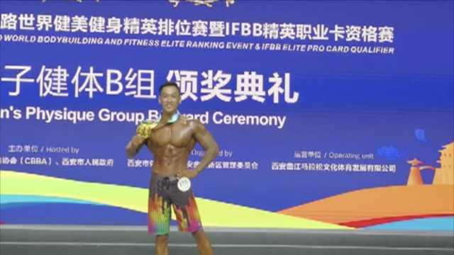 身体太瘦弱,小伙健身练成世界冠军