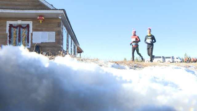 零下20℃!他赤身跑马拉松还直喊热