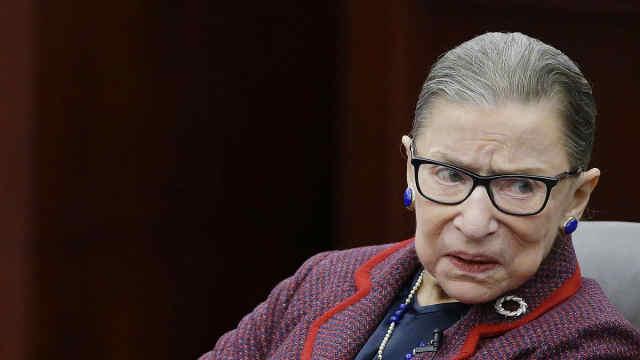美国85岁自由派大法官摔断三根肋骨