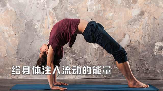 流瑜伽基础练习