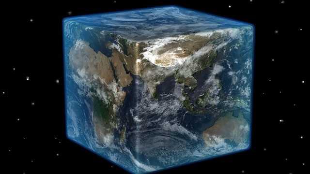 地球是立方体,世界会变成什么样?