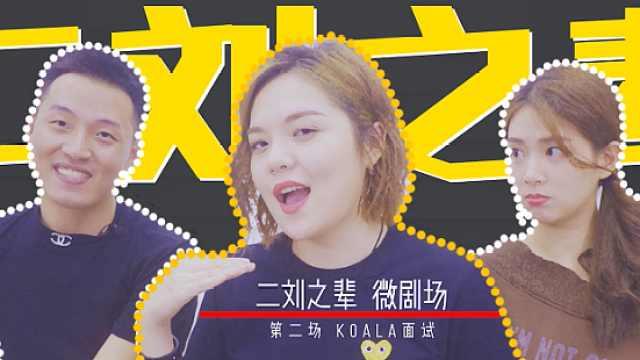 二刘之辈微剧场第二集:Koala面试