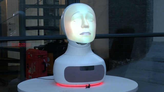 可以和人类交流情感的社交机器人