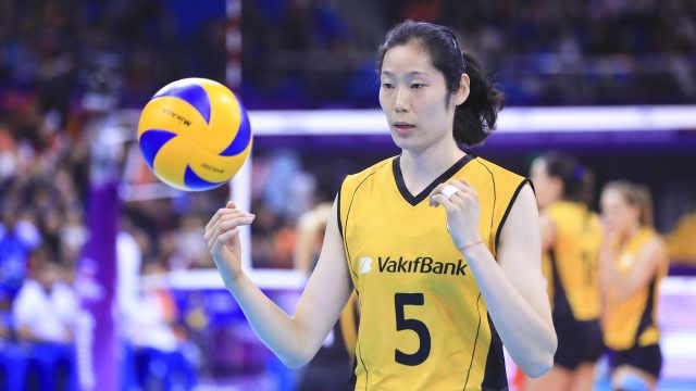 国际排联盛赞朱婷:不忘本排球女王