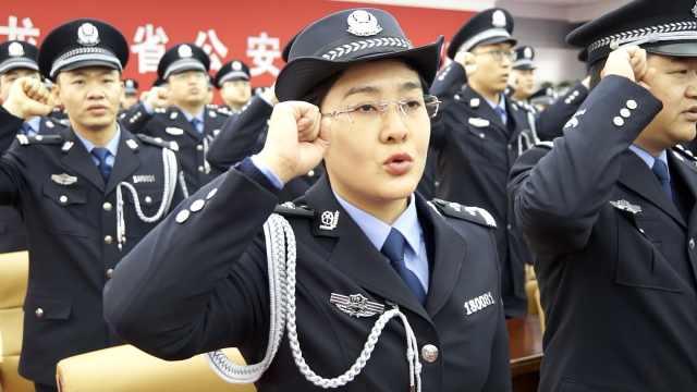 三千边防官兵戎装换警服:不改初心