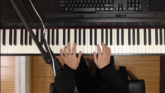 陈雪凝单曲《假装》钢琴弹唱