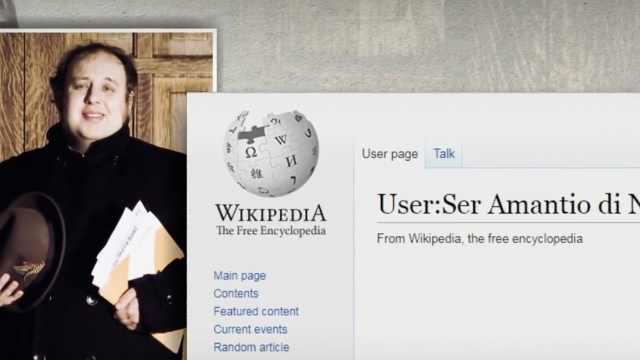 维基百科上1/3的词条都被他编辑过