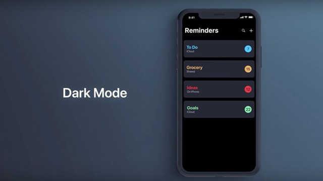 苹果【黑暗模式】准备出了