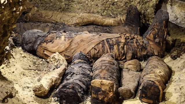 大发现!埃及出土近50具千年木乃伊