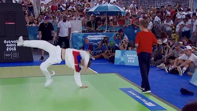 @孙红雷,霹雳舞有望入巴黎奥运会