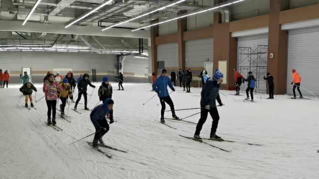 备战冬奥,吉林隧道里建千米滑雪场