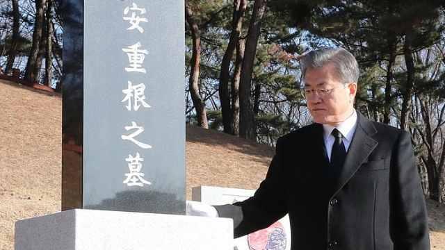 韩总统:继续在中国寻抗日志士遗骸