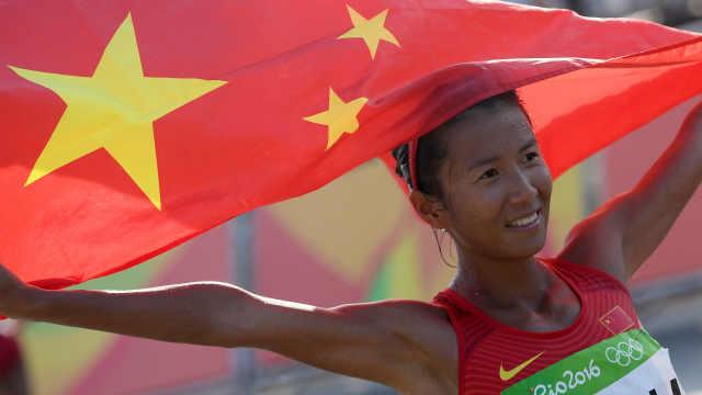強勢!劉虹破50公里競走世界紀錄