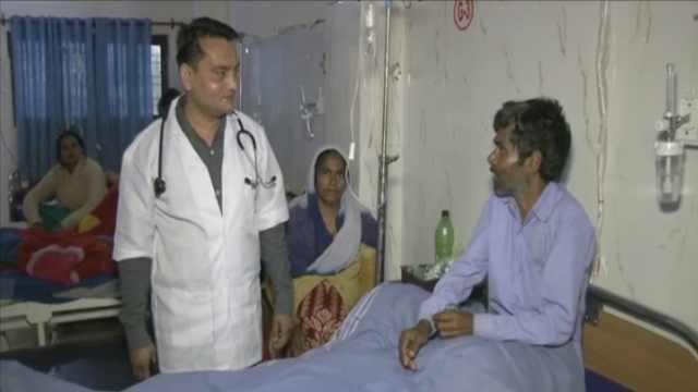 腹痛数月,印男子体内惊现女性子宫