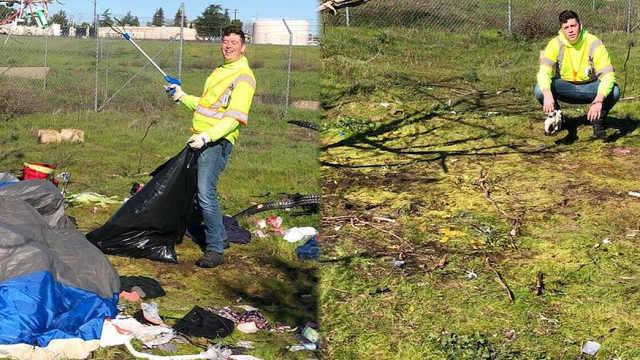 这可能是最环保的挑战:捡垃圾挑战