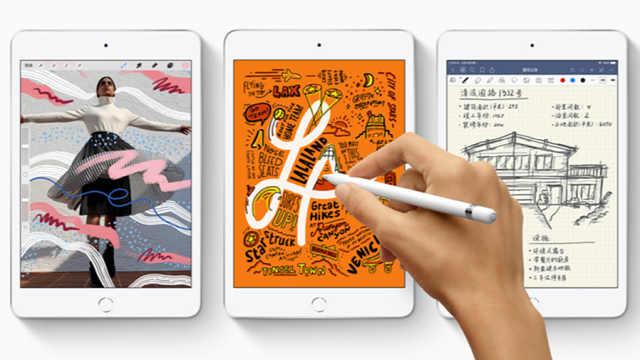 新款iPad mini与Air齐亮相