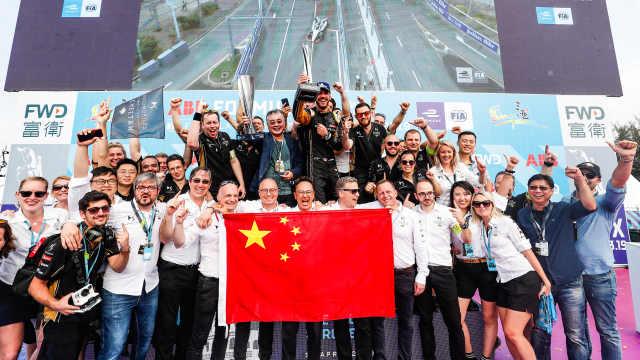 FE三亚站,夺冠的竟是一支中国车队