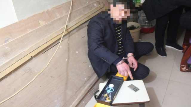 毒贩小区被抓期间,有8人上门购买