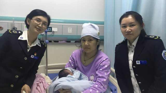 产妇在家临盆,120远程指导丈夫接生
