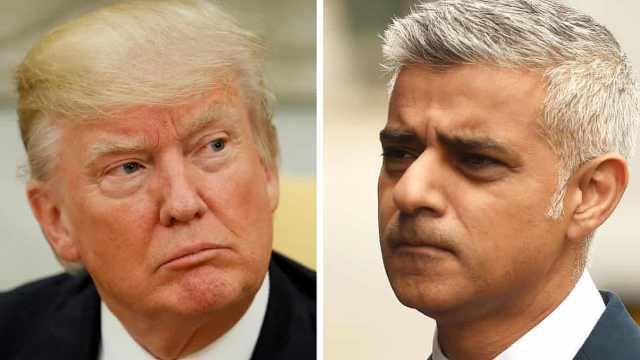 伦敦市长撰文怼川普是法西斯主义者