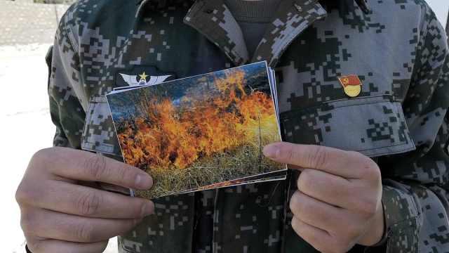 西藏战士回四川休假,扑大火救老人