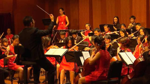 上海青少年乐手献礼《我的祖国》