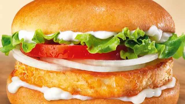 没有一点肉!汉堡王推出全素汉堡