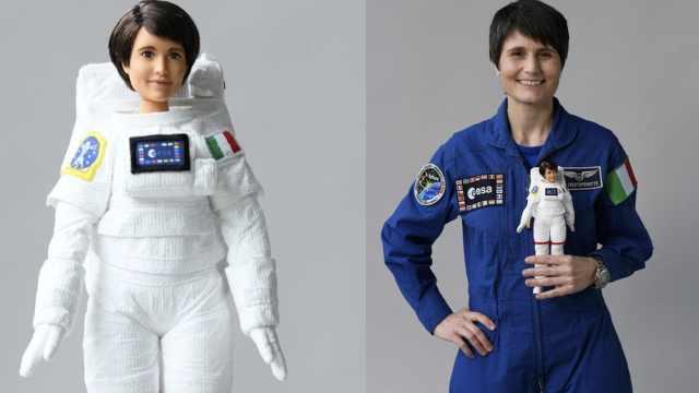 欧洲太空署推出宇航员芭比