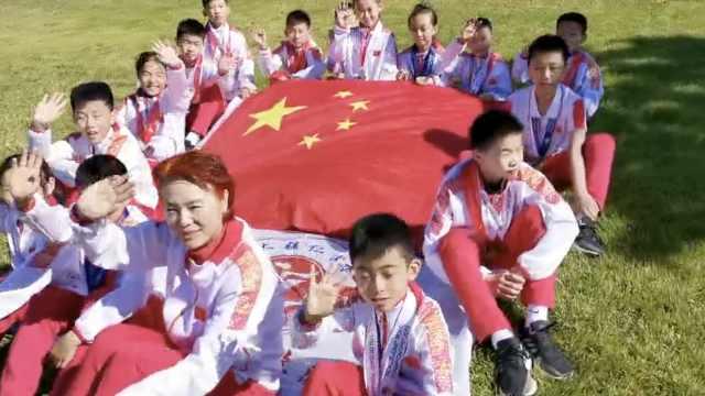 跳绳世界杯,济南一学校斩获14金