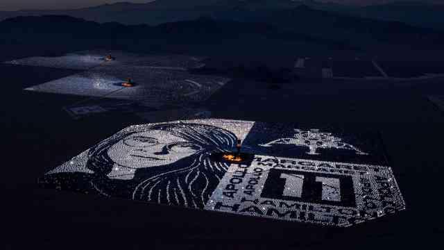 10万面镜子成像,谷歌这样致敬登月