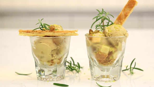 朗姆葡萄手工仿冰淇淋:经典口味