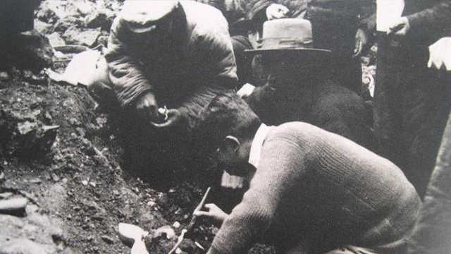抗战期间的北京人头盖骨被谁盗走?