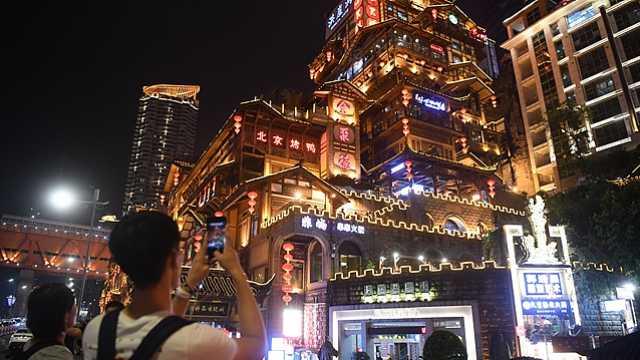 夜间经济点亮中国城市