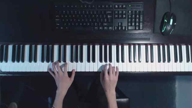 钢琴教学:张学友《我真的受伤了》