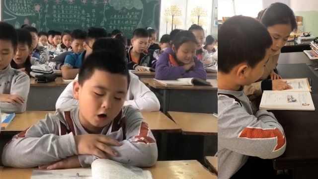 增肥救父男孩已返校,老师:他很刻苦
