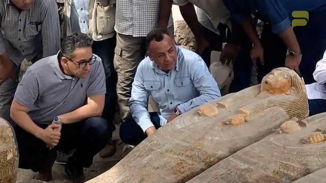 重大发现!埃及新出土20具千年木棺