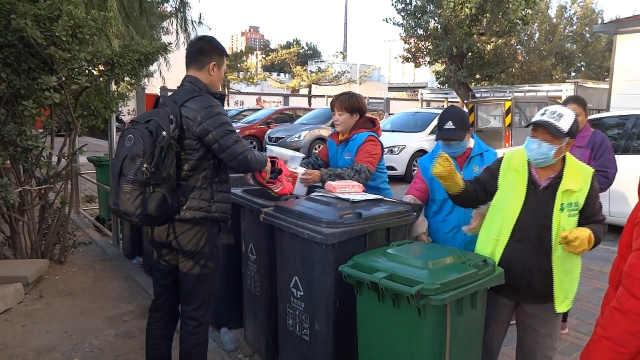 北京生活垃圾分类达人:想早日退休