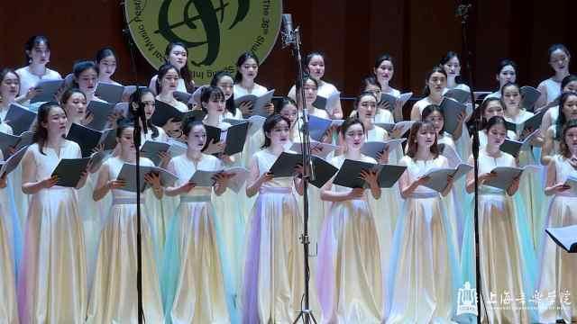 女声合唱团演唱《想欲弹同调》