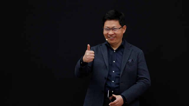 余承东:华为平板首夺市场份额第一