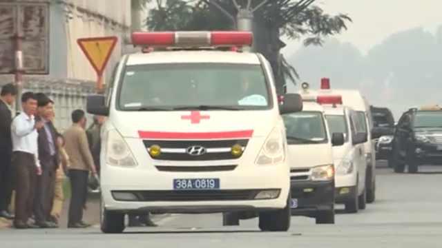 英货车案首批遇难者遗体被送回越南